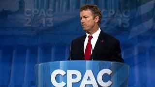Rand Paul's CPAC 2013 Speech - 3/14/2013