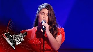 Gracie O'B Performs 'It's Quiet Uptown' | Blind Auditions | The Voice Kids UK 2019