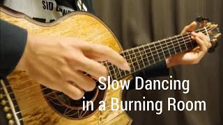 John Mayer - Slow Dancing in a Burning Room - Solo Acoustic Guitar - Arranged by Kent Nishimura