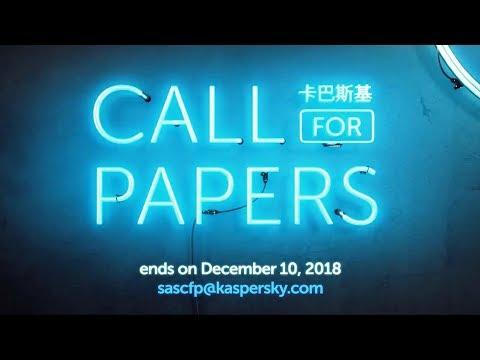 Kaspersky Security Analyst Summit (SAS) – Singapore, April 8-11, 2019