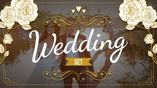 Wedding Set | Filmora Effects Store