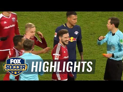FC Ingolstadt 04 vs. RB Leipzig | 2016–17 Bundesliga Highlights