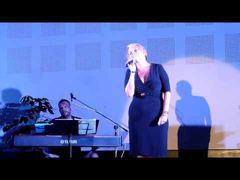 "Anne Steele sings ""She Used To Be Mine"" by Sara Bareilles from WAITRESS at the Hard Rock Vallarta"