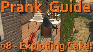 """""""Goat Simulator"""" - PAYDAY DLC - Exploding Cake! (08)"""