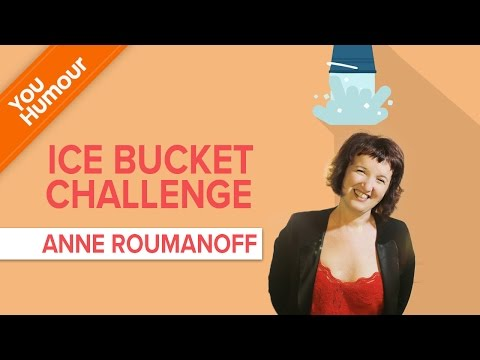 Ice Bucket Challenge d' Anne Roumanoff