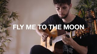 Fly me to the Moon - Frank Sinatra - Fingerstyle Guitar Cover
