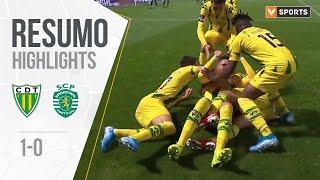 Highlights   Resumo: Tondela 1-0 Sporting (Liga 19/20 #10)