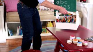 Create A Space For Learning With The Trestle Table | Pottery Barn Kids