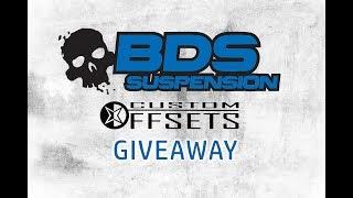 Custom Offsets & BDS Suspension Live Giveaway 1/3/18