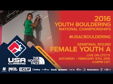 Female Youth A • Semifinals • Saturday February 6th 2016 • LIVE 2:33PM CST