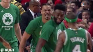 Boston Celtics Defensive Highlights vs Chicago Bulls (04/23/2017)