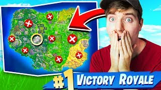 i USED MRBEAST TO WIN in FORTNITE BATTLE ROYALE!