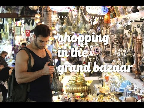 The Grand Bazaar, and A Tea Set  || Travel Turkey