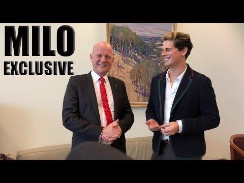 MILO & Senator David Leyonhjelm at Parliament House - EXCLUSIVE Interview!