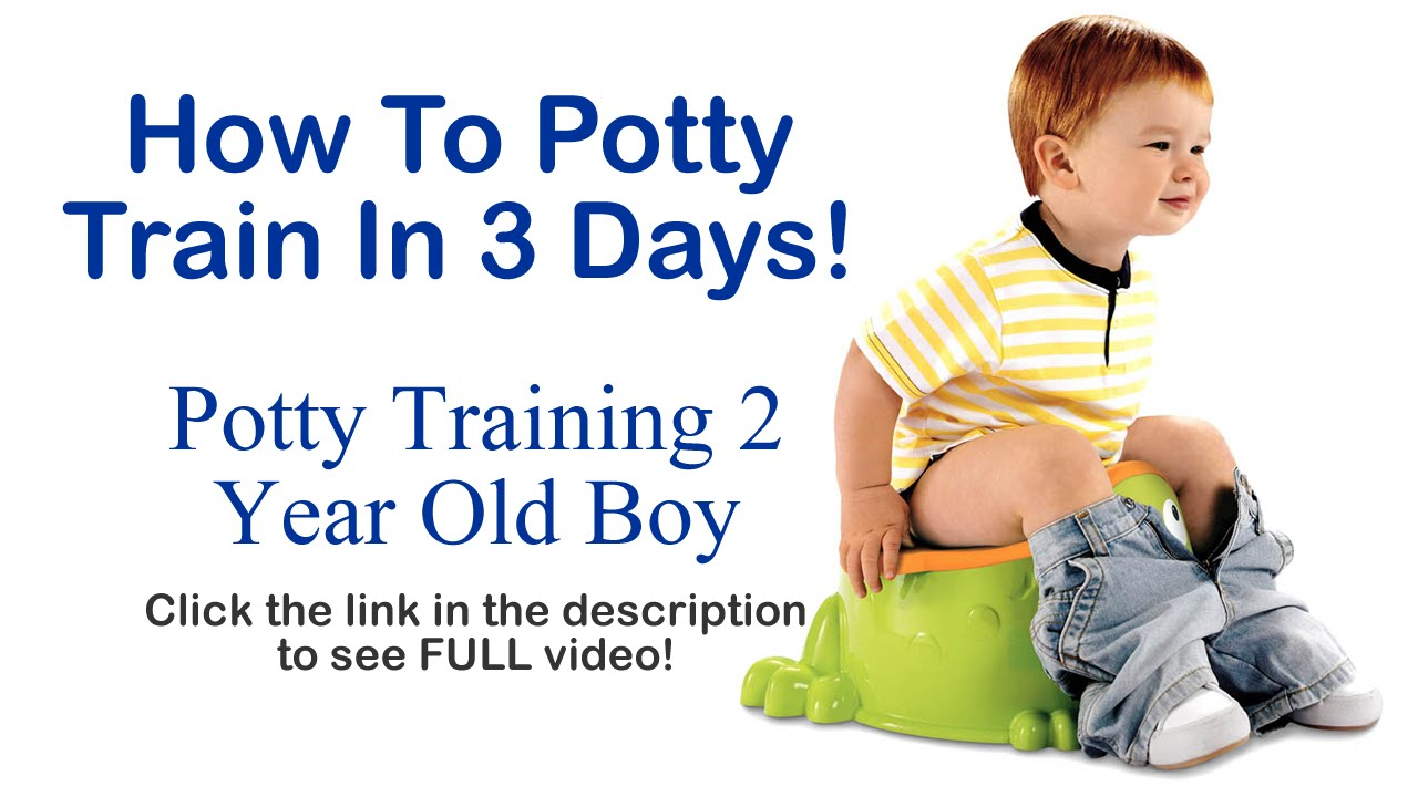 b047cb458d77a How To Potty Train In 3 Days - Potty Training 2 Year Old Boy - YouTube
