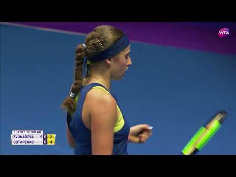 2018 St. Petersburg Open Second Round | Jelena Ostapenko vs. Vera Zvonareva | WTA Highlights