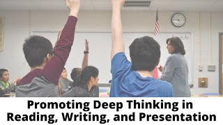 Veritas Education Promotes Deep Thinking in Reading, Writing, and Presentation