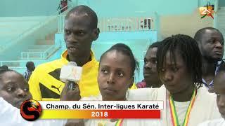 SENSEÏ DU 29 AVRIL 2018 - CHAMPIONNAT DU SÉNÉGAL INTER-LIGUES KARATÉ