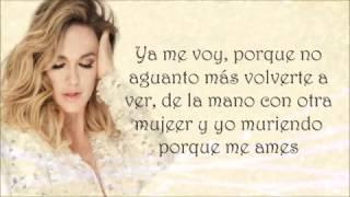 María José - Habla ahora (letra)