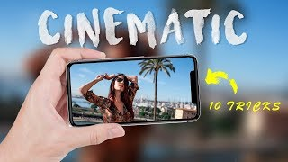 iPhone CINEMATIC VIDEO tutorial    HOW to make iPhone 11 footage look cinematic