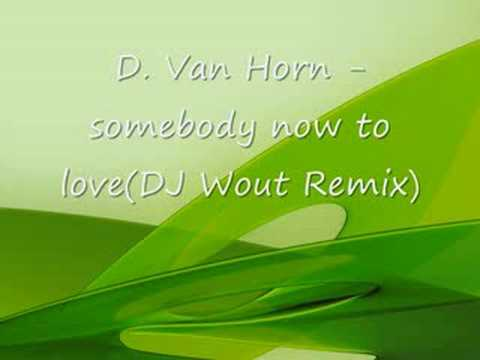 D. Van Horn - somebody now to love(DJ Wout Remix)