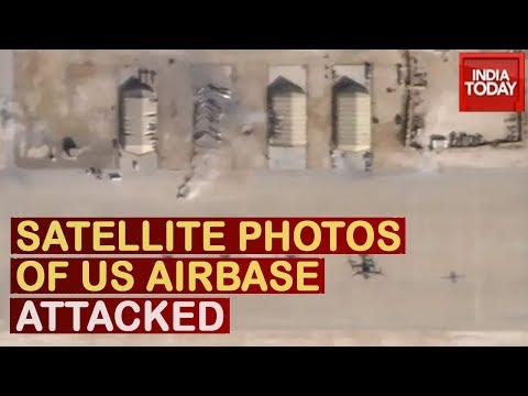 Watch Satellite Photos That Show Damage To US Airbase In Iraq Hit By Iranian Missiles