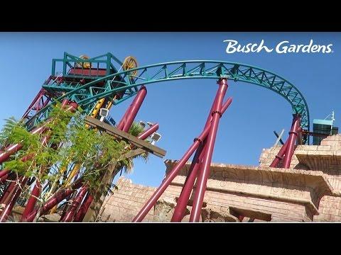Busch Gardens Tampa Bay Florida Vlog! (Part 2)