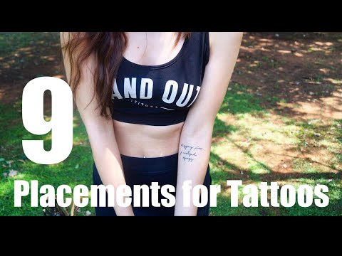 9 Placement Ideas For Tattoos