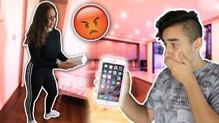 שברתי לאחותי את האיפון 8 החדש!!? מתיחה מטורפת!!