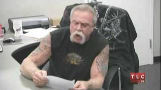 American Choper Teutul Teussul #1: It would BURN TO THE GROUND!!!!!