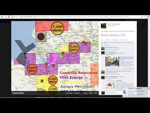 Fracking Threat to 6,000,000 in the northwest of England Explained and Compared in 4 minutes