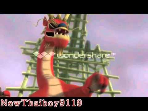 Kung Fu Panda Enter The Dragon MV - Rebirth Alpha²