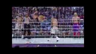 Real Americans vs Matadores vs Rybaxel vs Usos Wrestlemania 30 pre show Segment 3