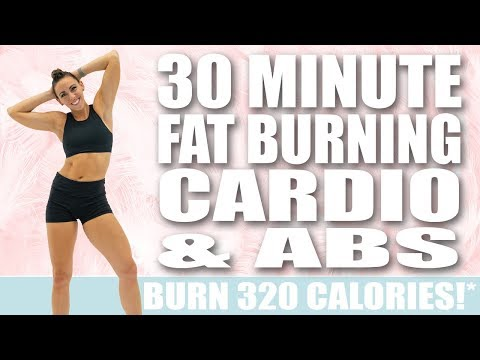 30-minute-fat-burning-cardio-and-abs-workout-🔥burn-320-calories!*-🔥sydney-cummings