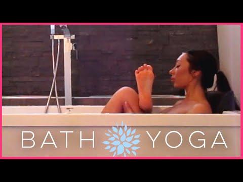 Bath Yoga | 10 Minute Restorative Yoga