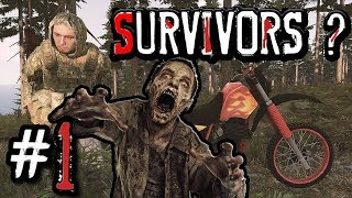 *BEST* Zombie survival MOD ! ARMA 3 - searching for survivors #1