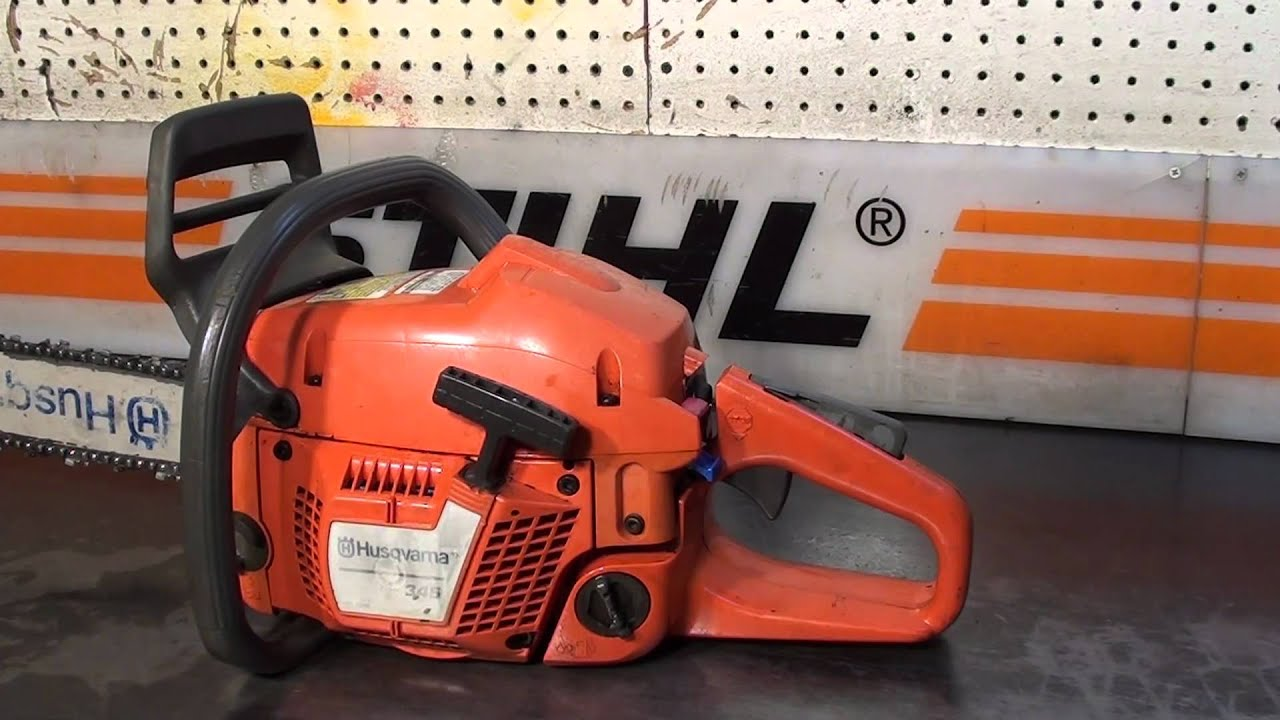 The Chainsaw Guy Shop Talk Husqvarna 345 5 9 Youtube Fuel Filter Repair