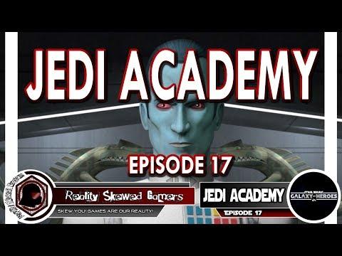 SWGOH Jedi Academy Episode 17 Live Q&A | Star Wars: Galaxy of Heroes #swgoh