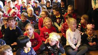 "The Junior School sing ""Together at Christmas Time"""