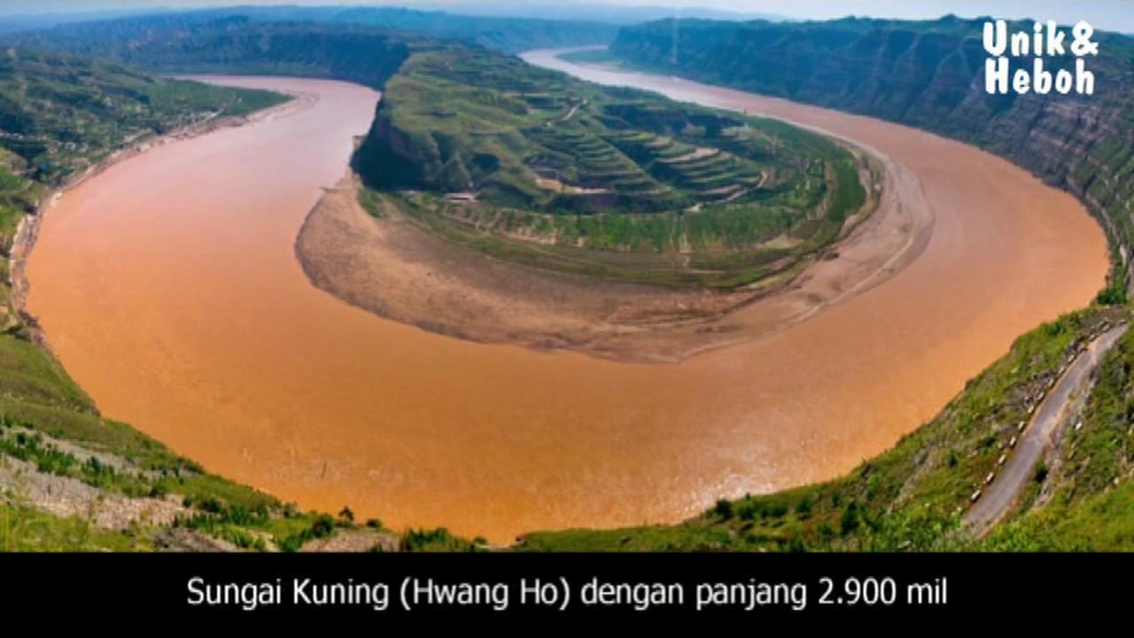 10 Sungai Terpanjang Dan Terluas Di Dunia Youtube