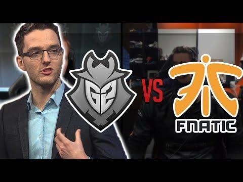 Freeze - NEJLEPŠÍ TÝMY V EVROPĚ PROTI SOBĚ! | G2 Esports vs FNATIC Review