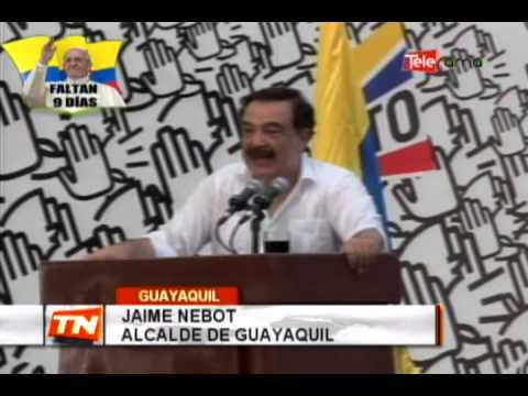 Se realizó marcha convocada por alcalde Nebot
