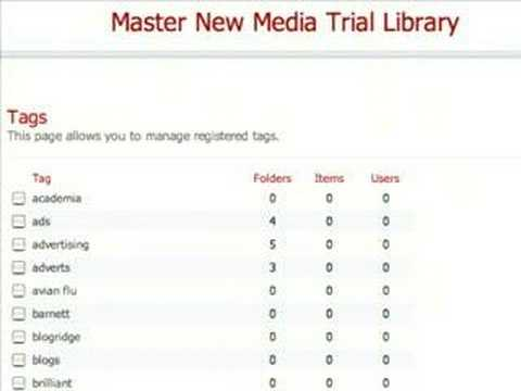Blogbridge Library -OPML and the library (4/5)