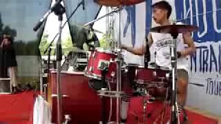 Rebellion Rose Bermalam Bintang Drumcam By GilangSandi