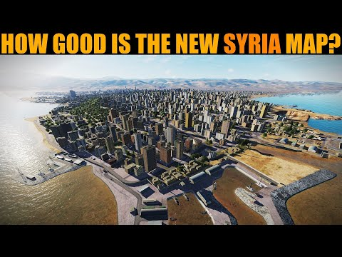 Syria Map: Exploring The Sights In Daytime | DCS WORLD