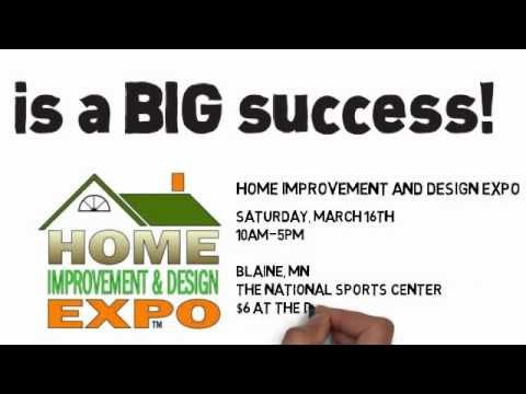 Home Improvement And Design Expo In Blaine Mn Youtube