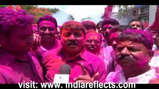 Belgaum BJP Rural MLA Sanjay Patil is Celebrating Victory Of MOdi