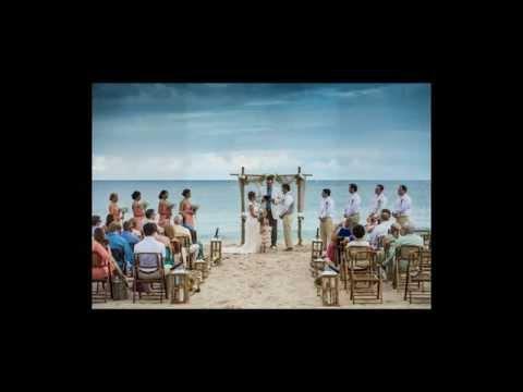 Lauren And Eric's Beautiful Beach Wedding by Wedding Bells and Seashells