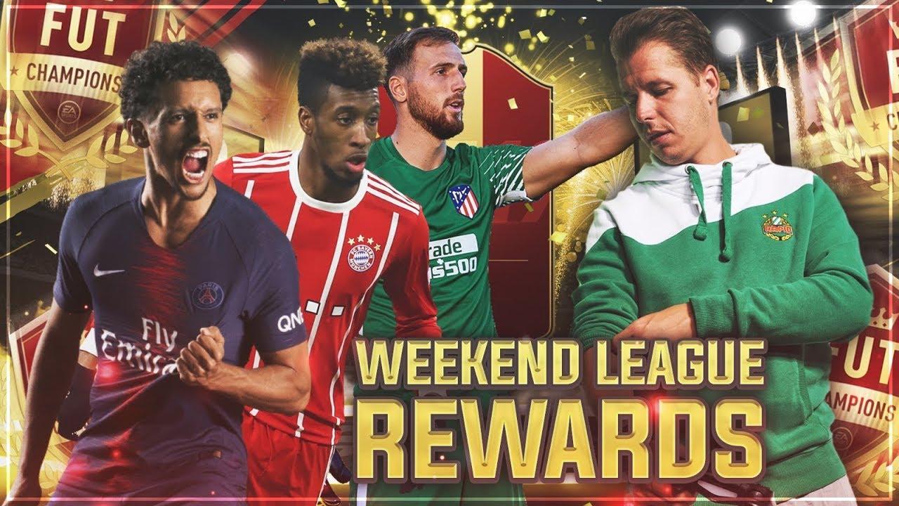 FIFA 19: FUT Champions Rewards #16 | 89+ WALKOUT AM START