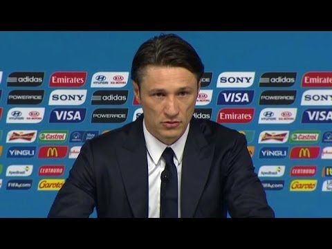 World Cup 2014 - Niko Kovac & Vedran Corluka 'Referee Was Embarrassing' - Brazil v Croatia